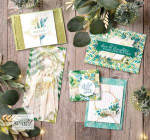 Kreativwald Produktreihe Ewiges Grün Stampin' UP Jahreskatalog 202021 Für alle Zeit 1